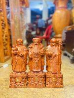Tượng Tam Da Gỗ Hương Dá Cao 30cm 1 600x800